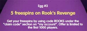 CasinoRoom ägg nummer 3