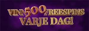 Vinn 500 frisnurr hos Garbo