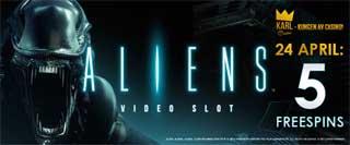 Karl Casino 5 free spins Aliens