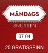 Måndagssnurren 7 april 2014