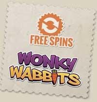 Wonky Wabbits freespins