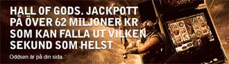 Hall of Gods jackpott hos Betsafe