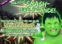 Hulken Smash-erbjudande