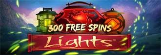 300 gratisrundor i Lights