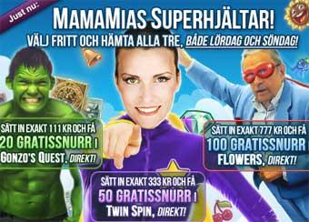 MamaMia Superhjältar