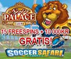 Soccer Safari Spin Palace