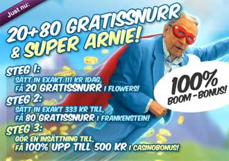 Super Arnie Boom Bonus