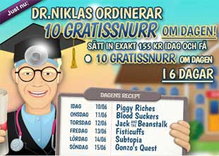 Dr Niklas ordinerar