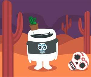 Spiele den Esqueleto Explosivo Slot bei Casumo.com