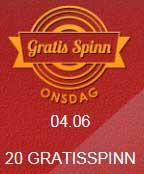 Gratis Spinn onsdag 4 juni 2014