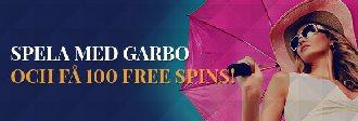 100 gratissnurr hos Garbo