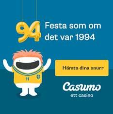 Casumo VM-bonus