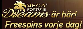 Mega Fortune Dreams freespins