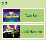 Twin Spin mot JackHammer
