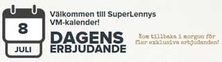 VMkalender SuperLenny 8 juli