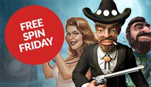 Free spin friday