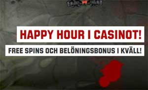 Happy hour Unibet