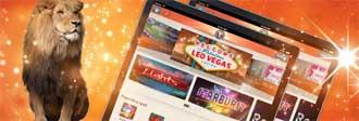 Leo Vegas iPad