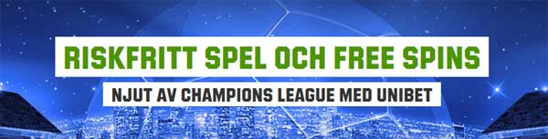 Champions League Unibet