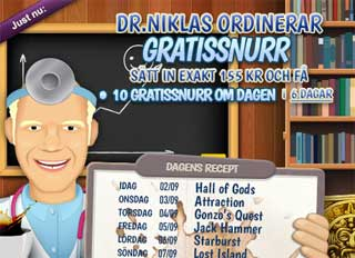 Dr Niklas den 2 september