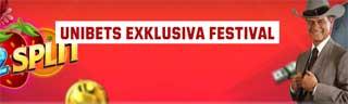Exklusiv festival hos Unibet