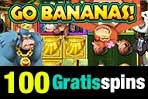 Go Bananas 100 gratisspins