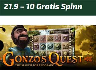 Gonzos Quest 21/9