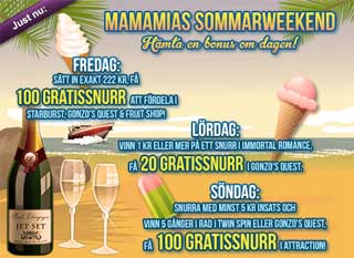 MamaMias Sommarweekend