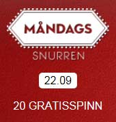 Måndagssnurren 22 september