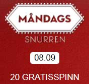 Måndagssnurren 8 september