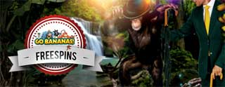 Mr Green Go Bananas freespins