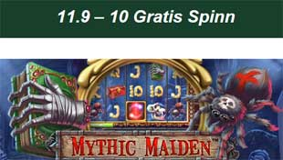 Mythic Maiden 11 september