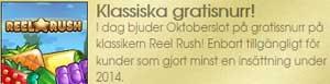 Reel Rush klassiska gratissnurr