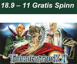 Thunderstruck 2 den 18/9
