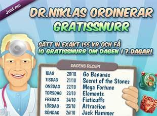 Doktor Niklas den 20 oktober