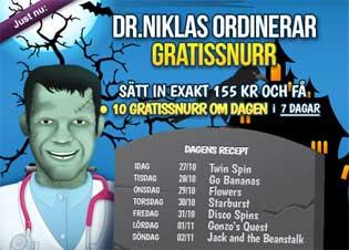 Dr Niklas Frankenstein