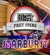 Freespins Starburst Mr Green