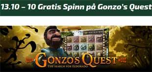 Gonzo's Quest 13 oktober