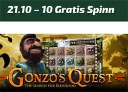 Gonzos Quest 21 oktober 2014
