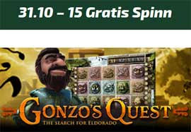 Gonzo's Quest 31 oktober 2014