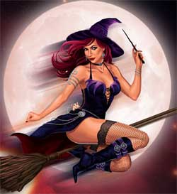 Halloween häxa