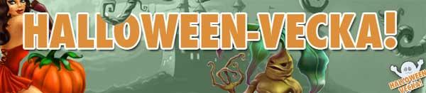 Halloween-vecka