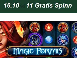 Magic Portals 16 oktober