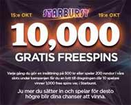 10 000 gratis frisnurr NextCasino