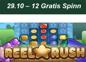 Reel Rush 29 oktober