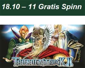 Thunderstruck 2 den 18/10