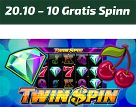 Twin Spin 20 oktober