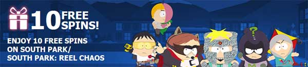 South Park spins hos 10bet