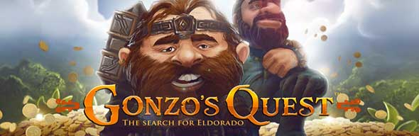 Gonzo's Quest hos CasinoSaga