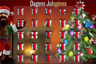Dagens julspinns hos KarlCasino